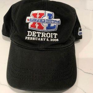 Reebok Superbowl XL Detroit 2006 Strapback Cap